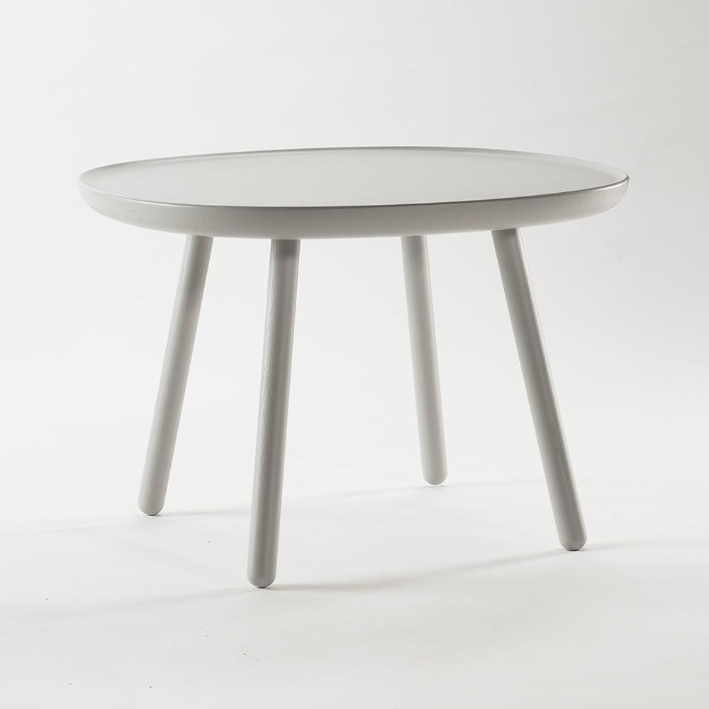 Naive side table L grey Emko