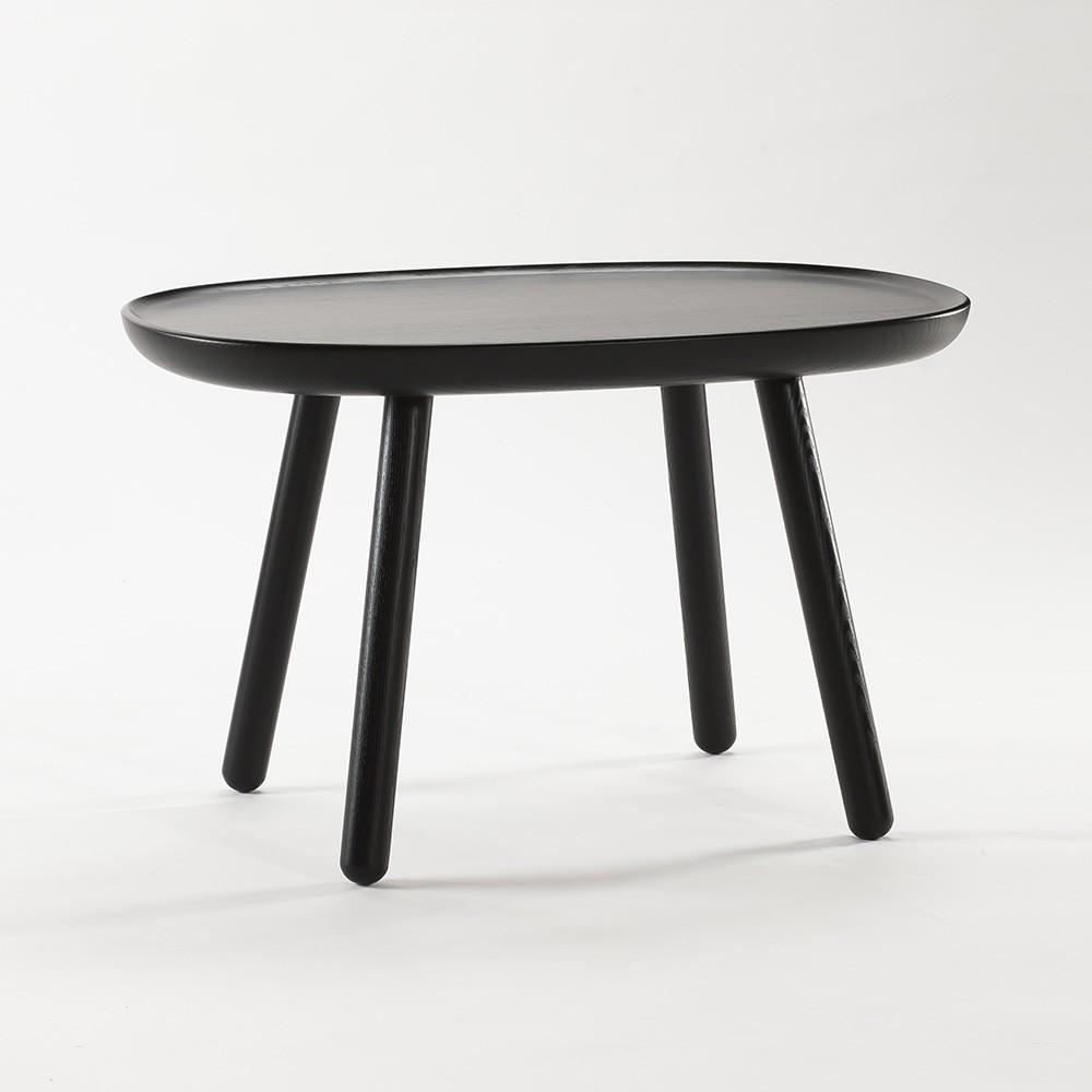 Naive side table M black Emko
