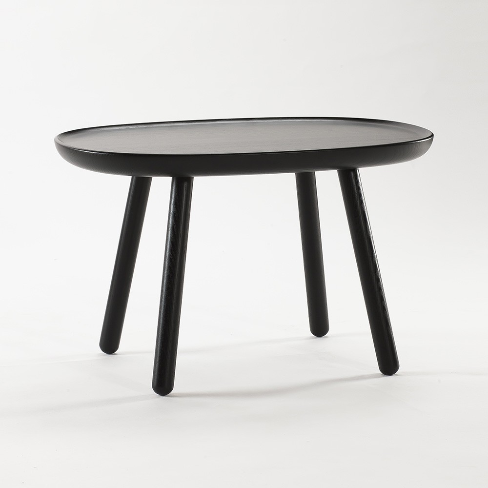 Table d'appoint Naive M noir Emko