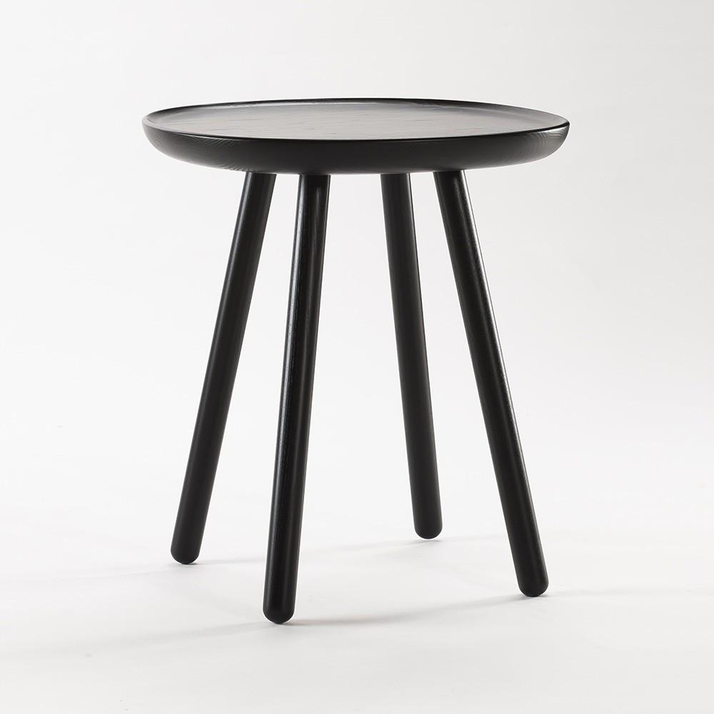 Naive side table S black Emko