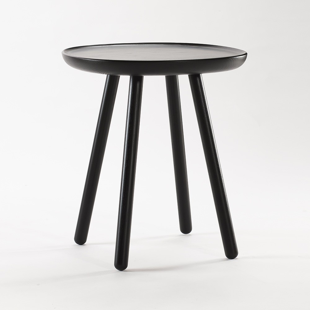 Table d'appoint Naive S noir Emko