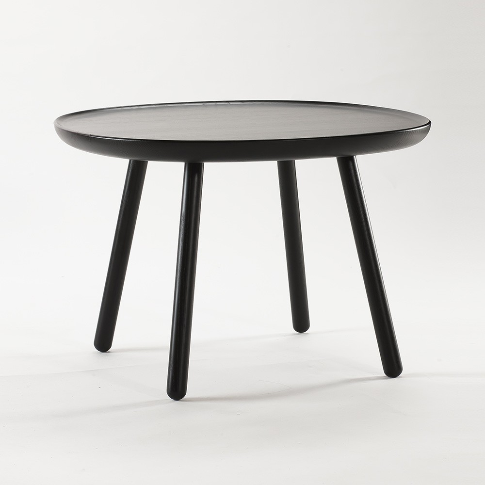 Naive side table L black Emko