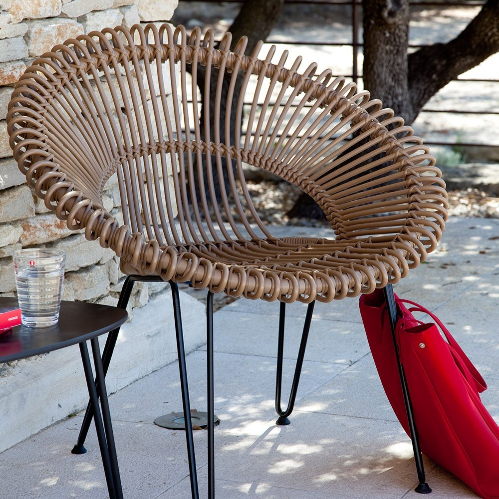 Roy lazy chair camel Vincent Sheppard