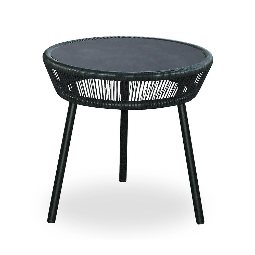 Loop side table black Vincent Sheppard
