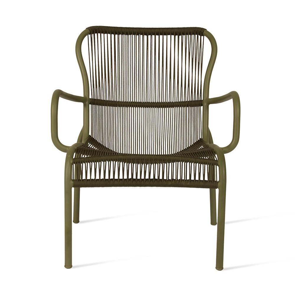 Loop lounge chair moss Vincent Sheppard