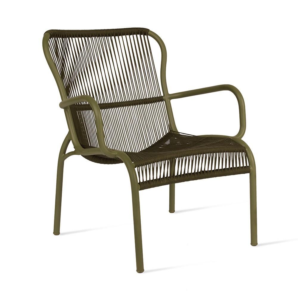 Loop lounge chair muschio Vincent Sheppard