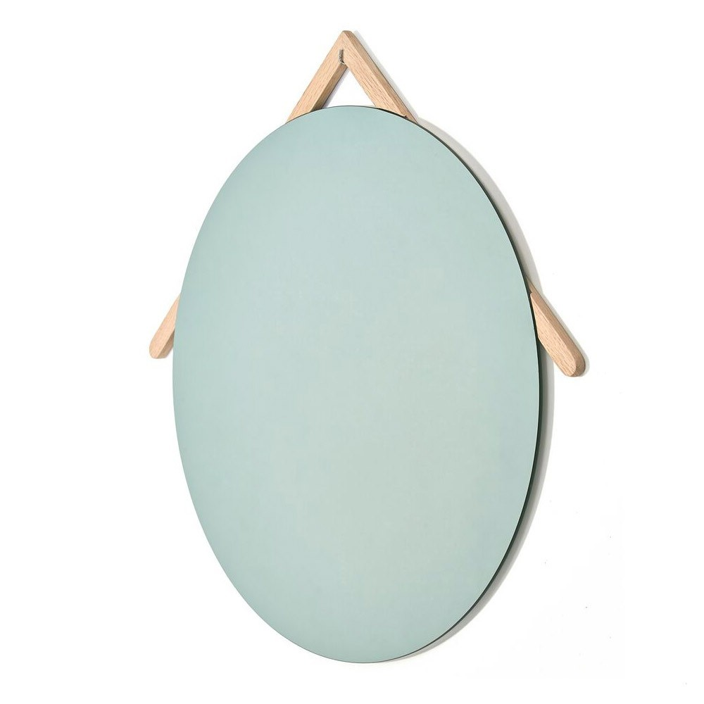 Grote Lubin eiken spiegel Hartô