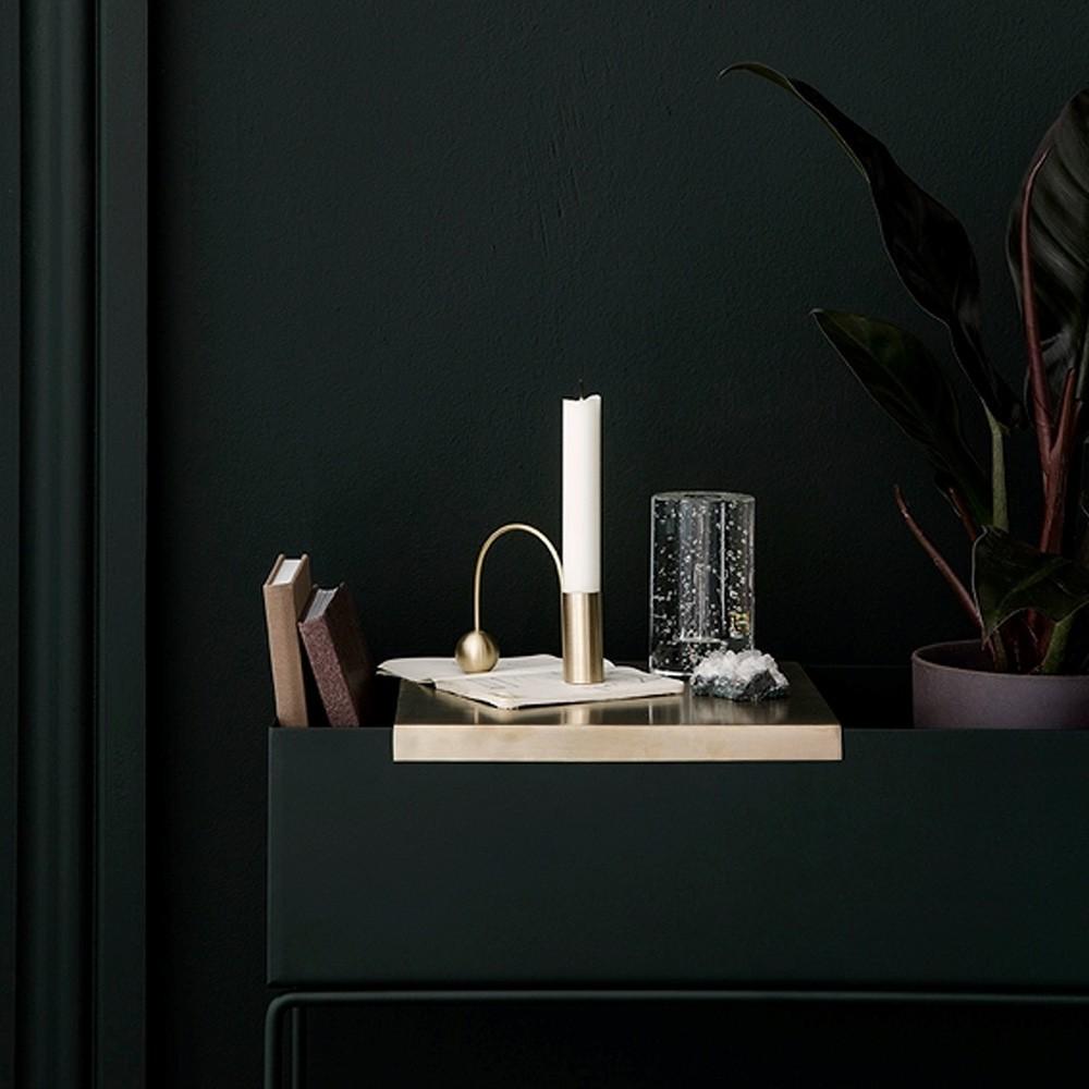 Plant box dark green Ferm Living