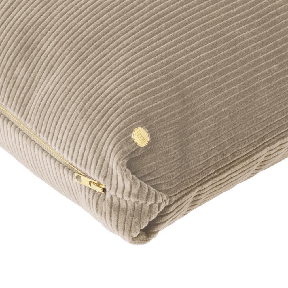 Corduroy cushion beige Ferm Living