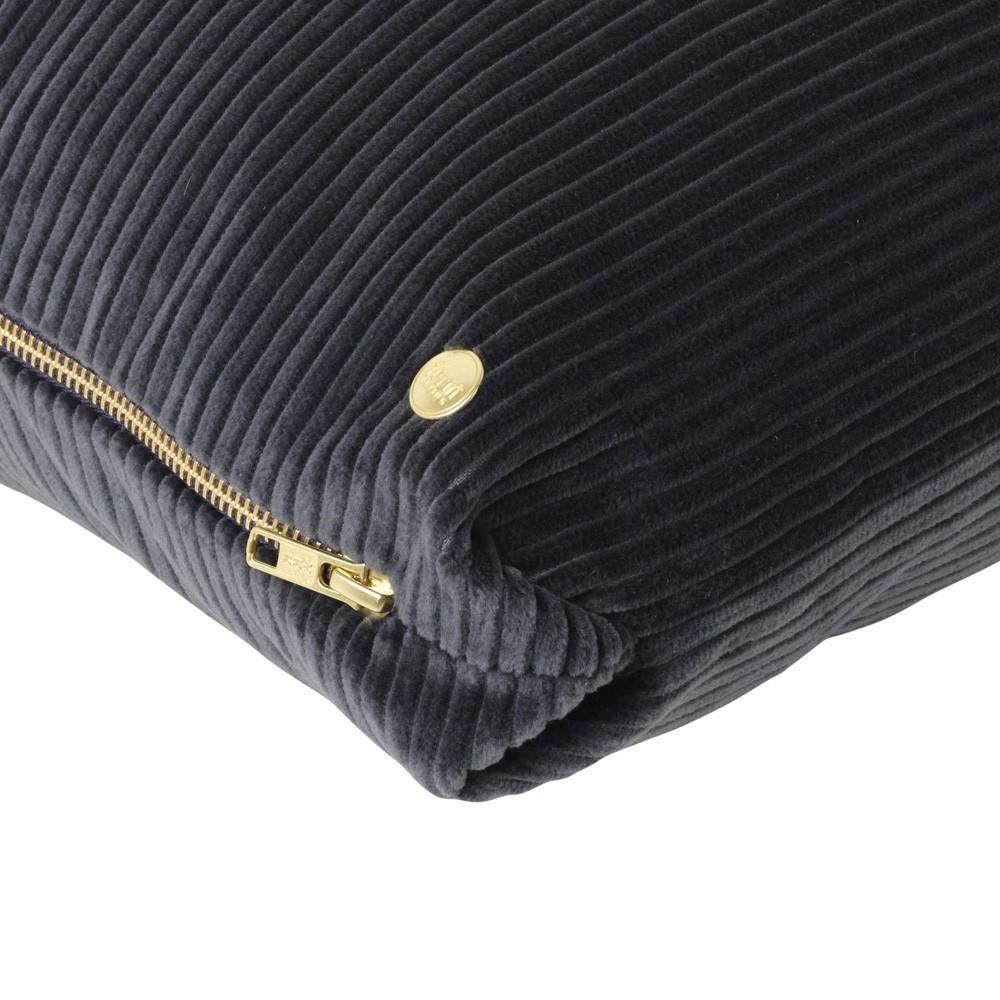 Corduroy cushion dark grey Ferm Living