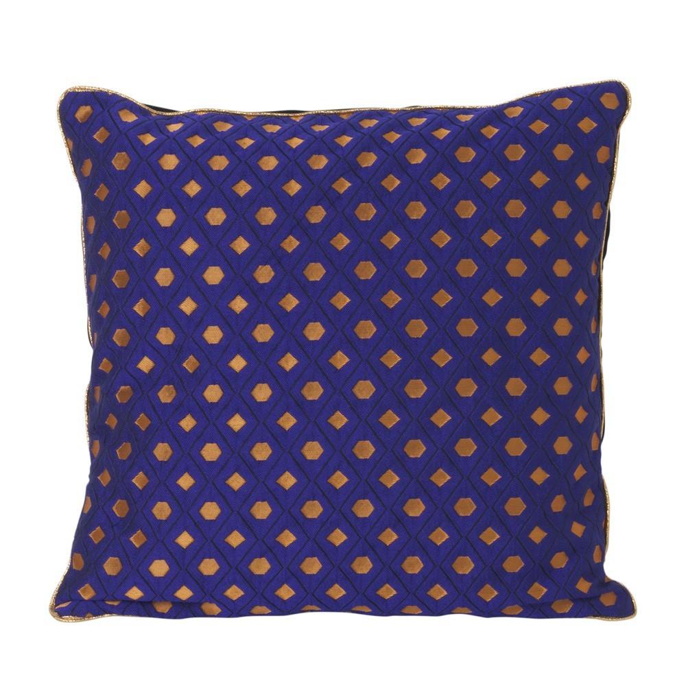 Mosaic cushion blue Ferm Living