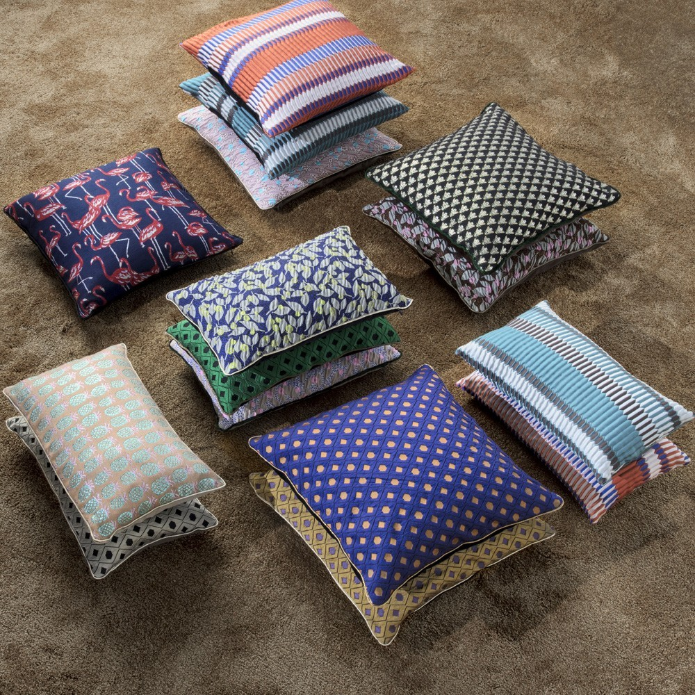 Coussin Mosaic curry Ferm Living