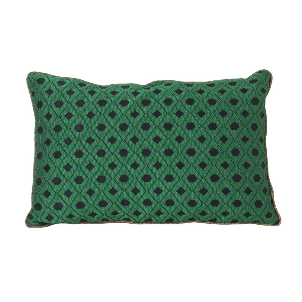 Coussin Mosaic vert Ferm Living