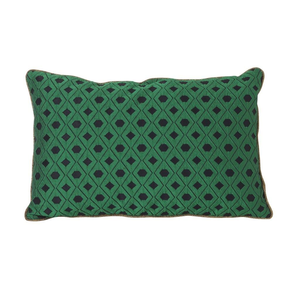 Mozaiek kussen groen Ferm Living