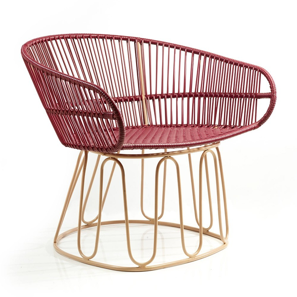 Chaise Lounge Circo paars / carne ames