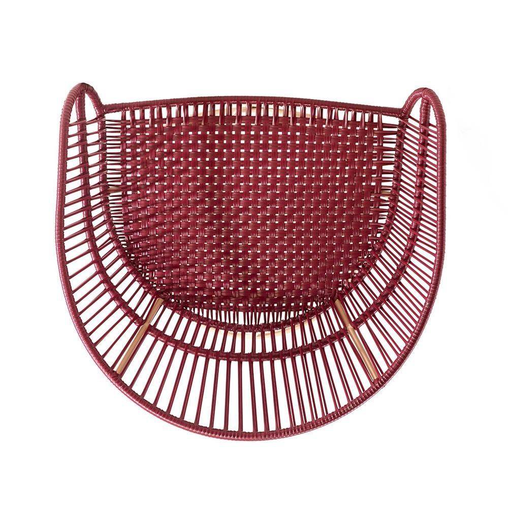 Circo Lounge chair purple/carne ames
