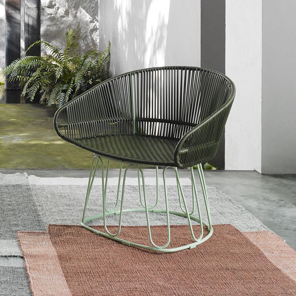 Circo fauteuil oliv / menta ames