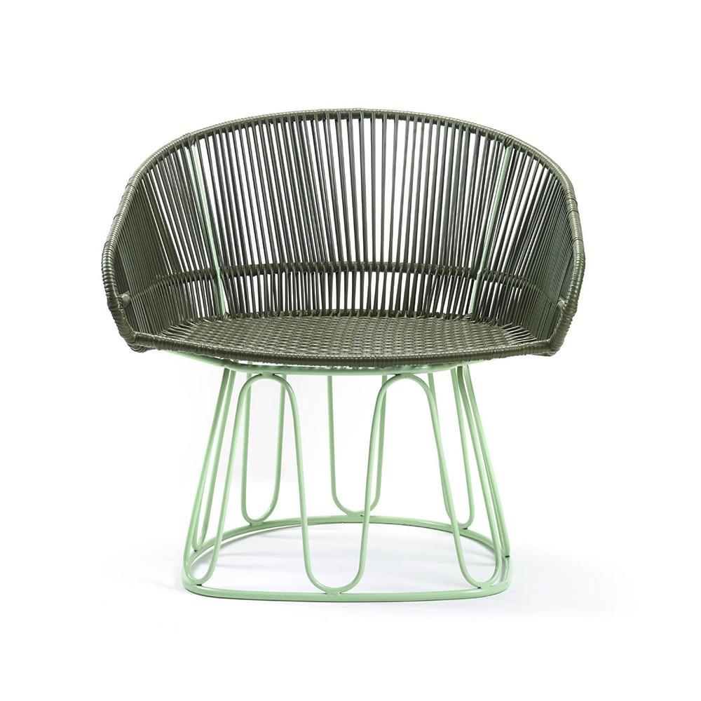 Circo Lounge chair oliv/menta ames