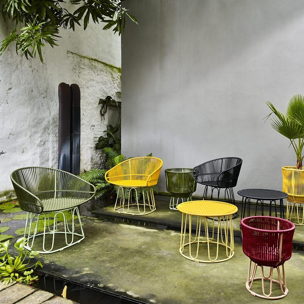Chaise Lounge Circo oliv/menta ames