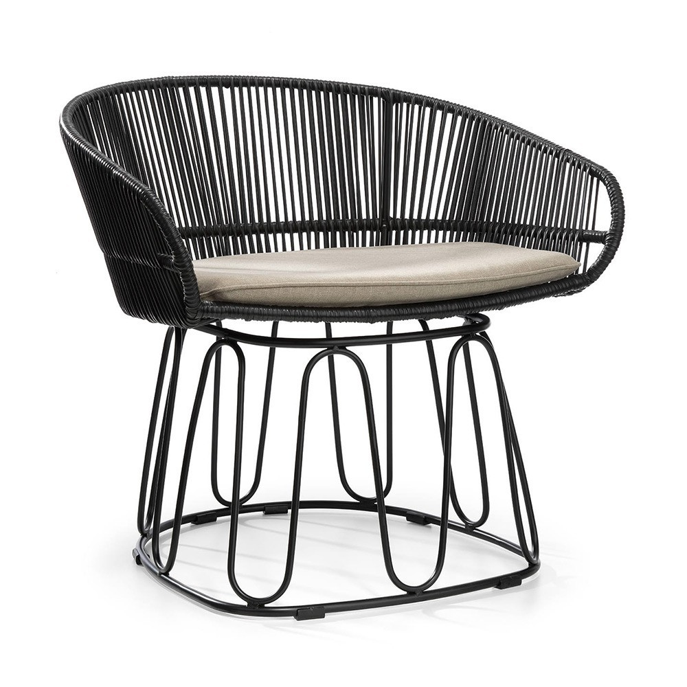 Circo Lounge chair black ames