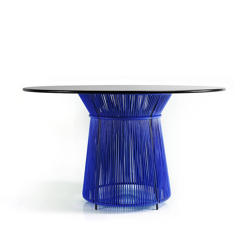 Caribe table blue/black ames