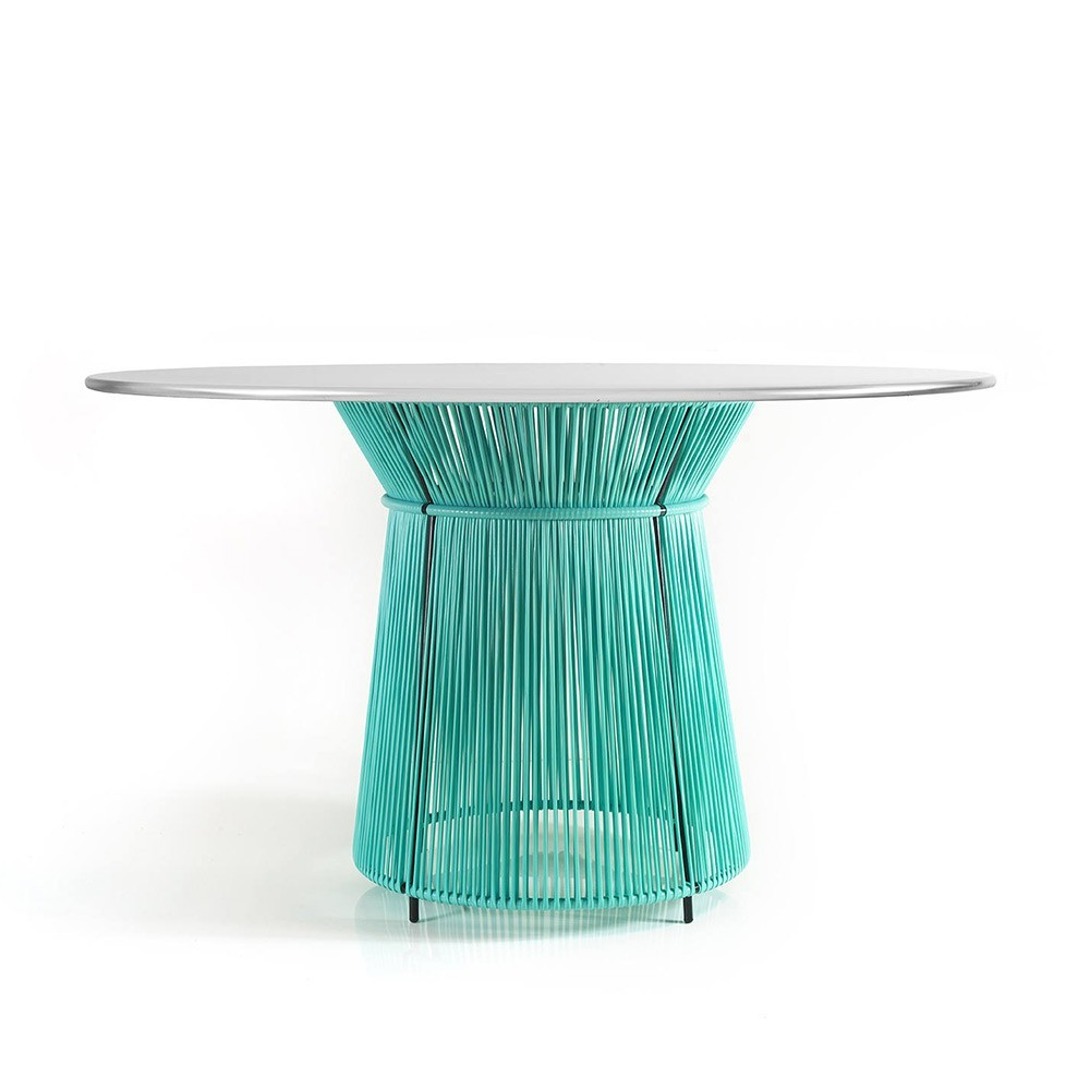 Caribe table mint/grey white ames