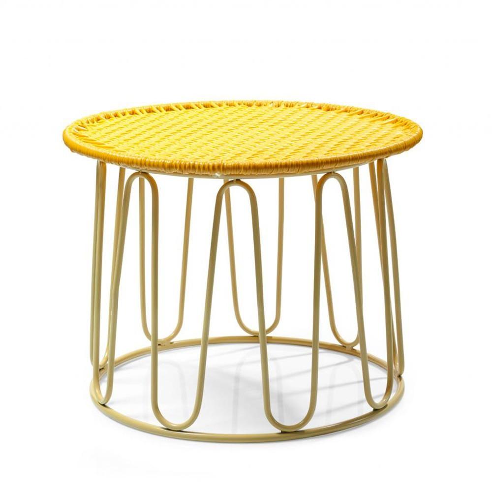 Circo side table honey/sand ames