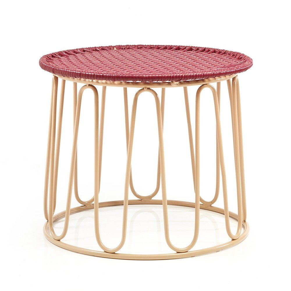 Circo side table purple/carne ames