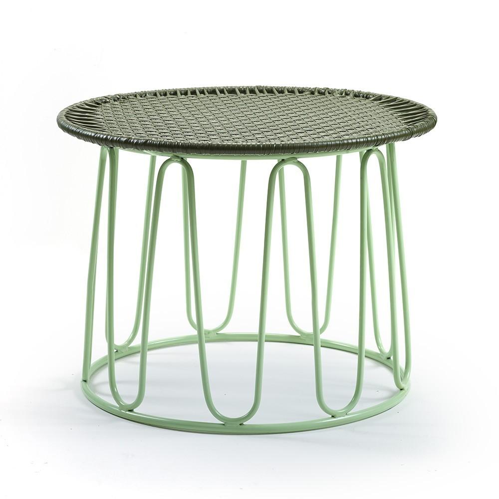 Circo side table oliv/menta ames