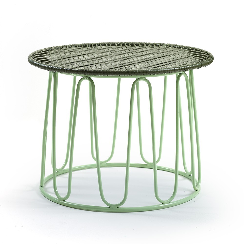 Table d'appoint Circo oliv/menta ames