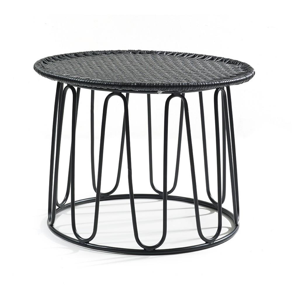 Circo side table black ames