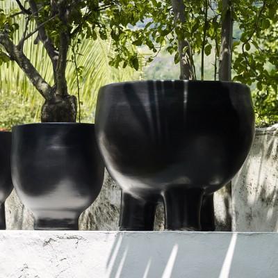 Barro pot L three-legged