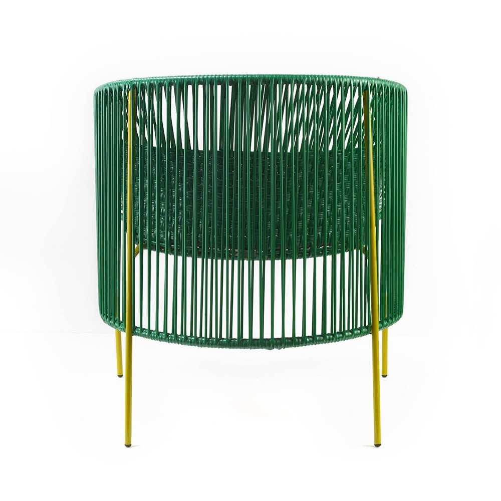 Caribe Lounge chair green/pink/curry ames