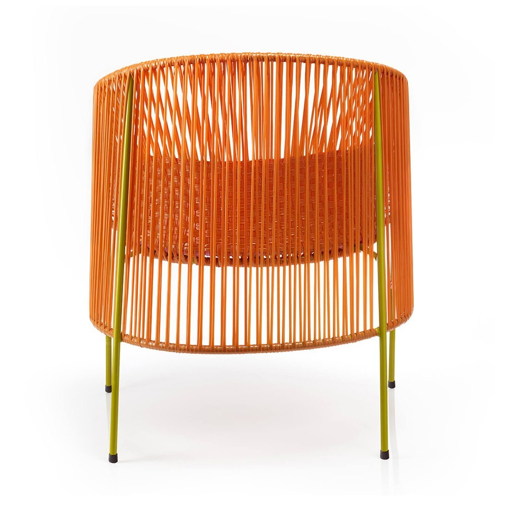 Caribe Lounge chair orange/rose/curry ames