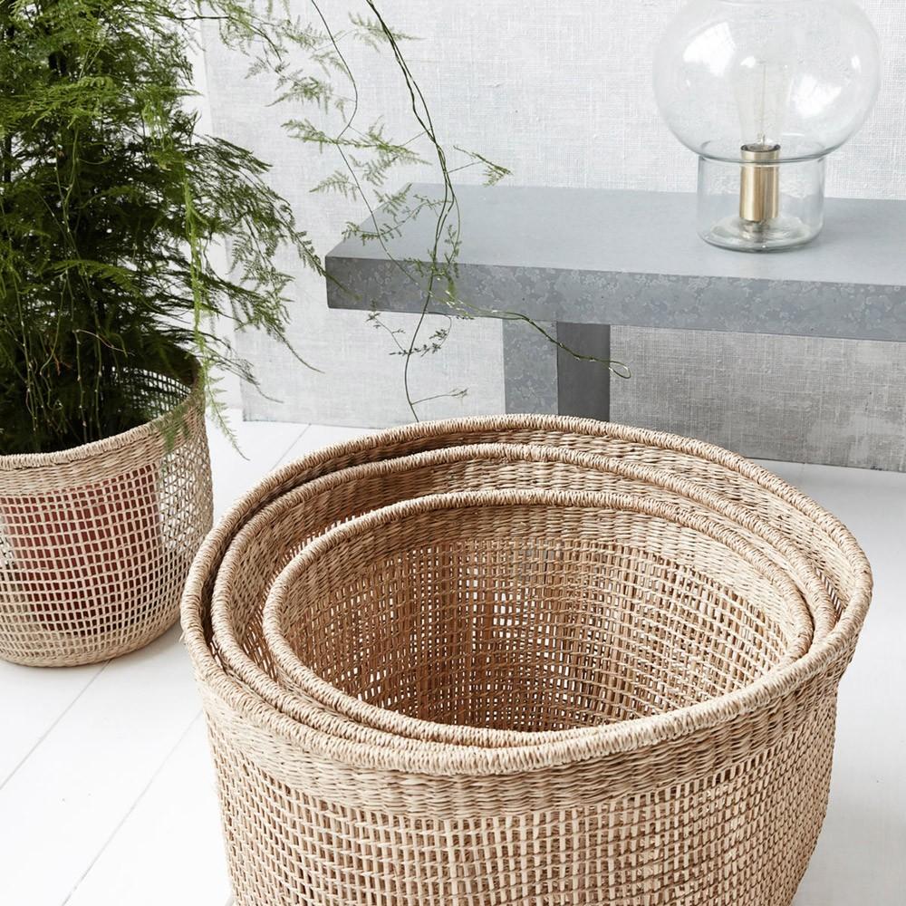 Baskets Shape L (pack of 3) House Doctor