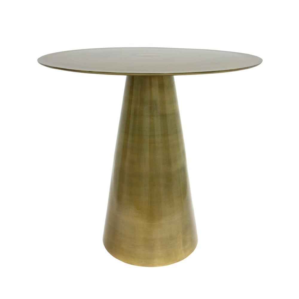 Brass side table HKliving