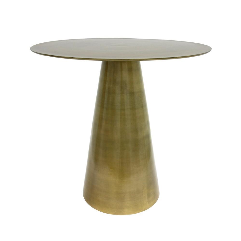 Brass side table HKliving