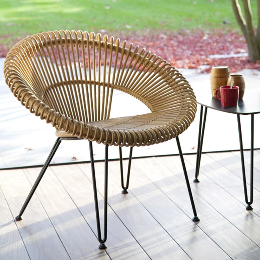 Cruz fauteuil naturel Vincent Sheppard