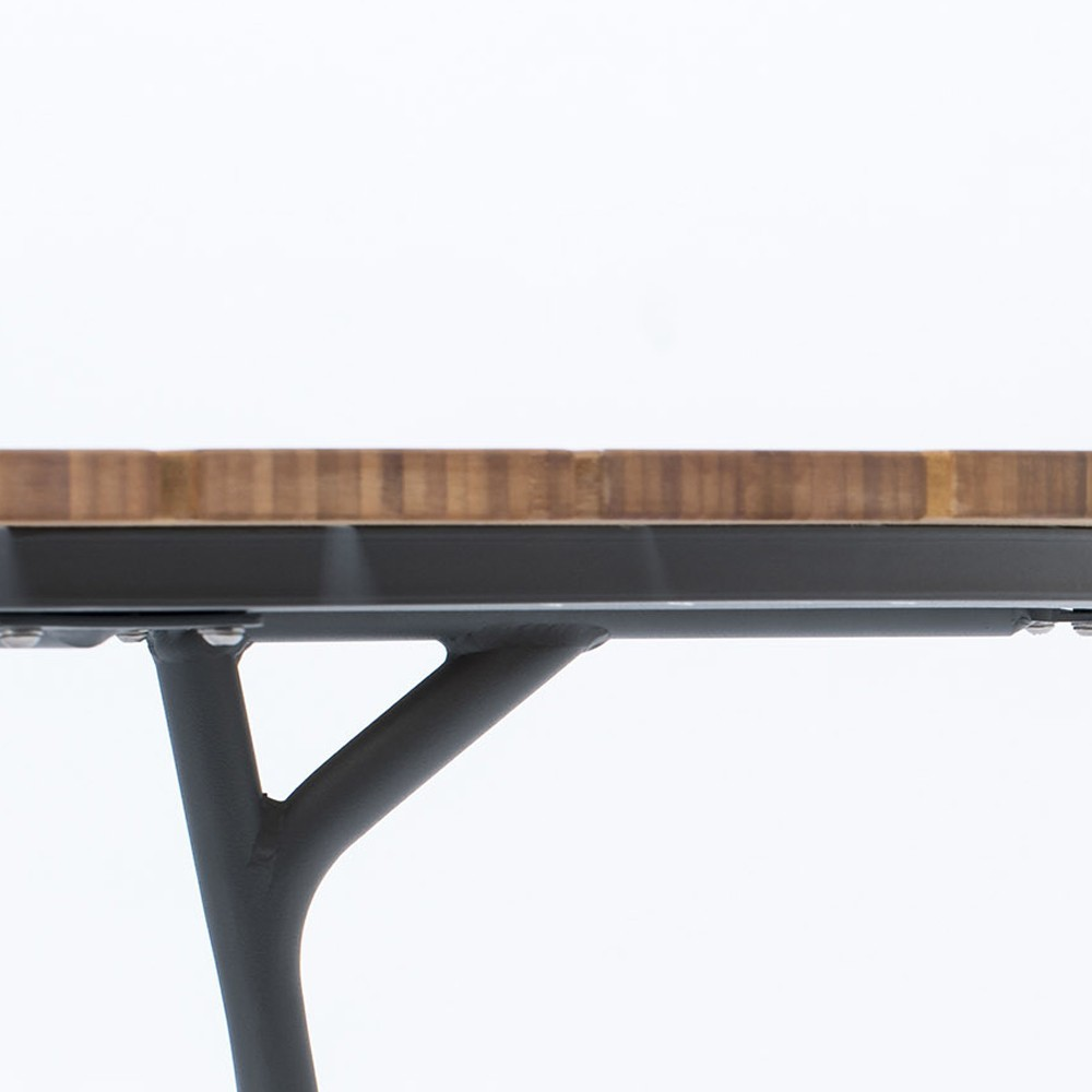 Table à manger Circle Ø150 cm bambou Houe