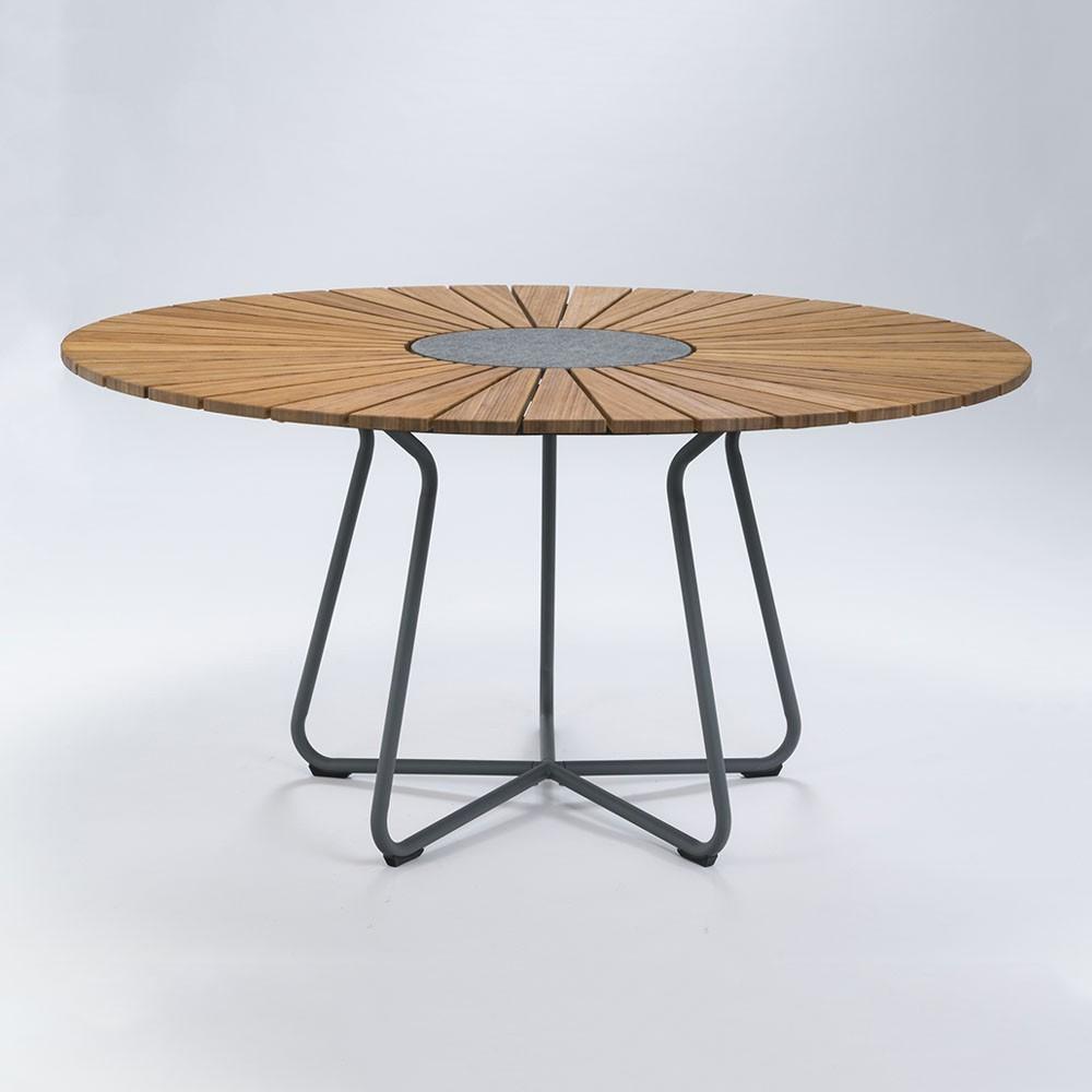 Cirkel eettafel Ø150 cm bamboe Houe