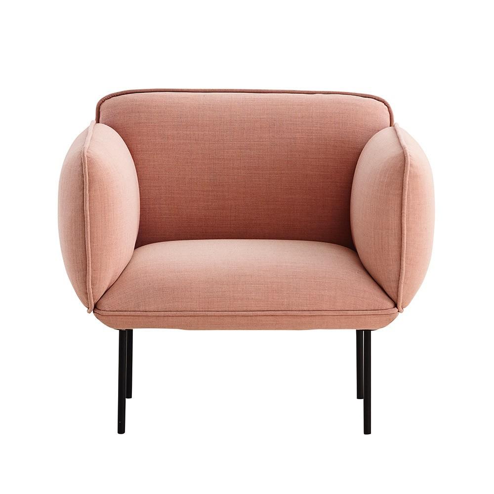 Nakki fauteuil Kvadrat Remix 2 stof Woud