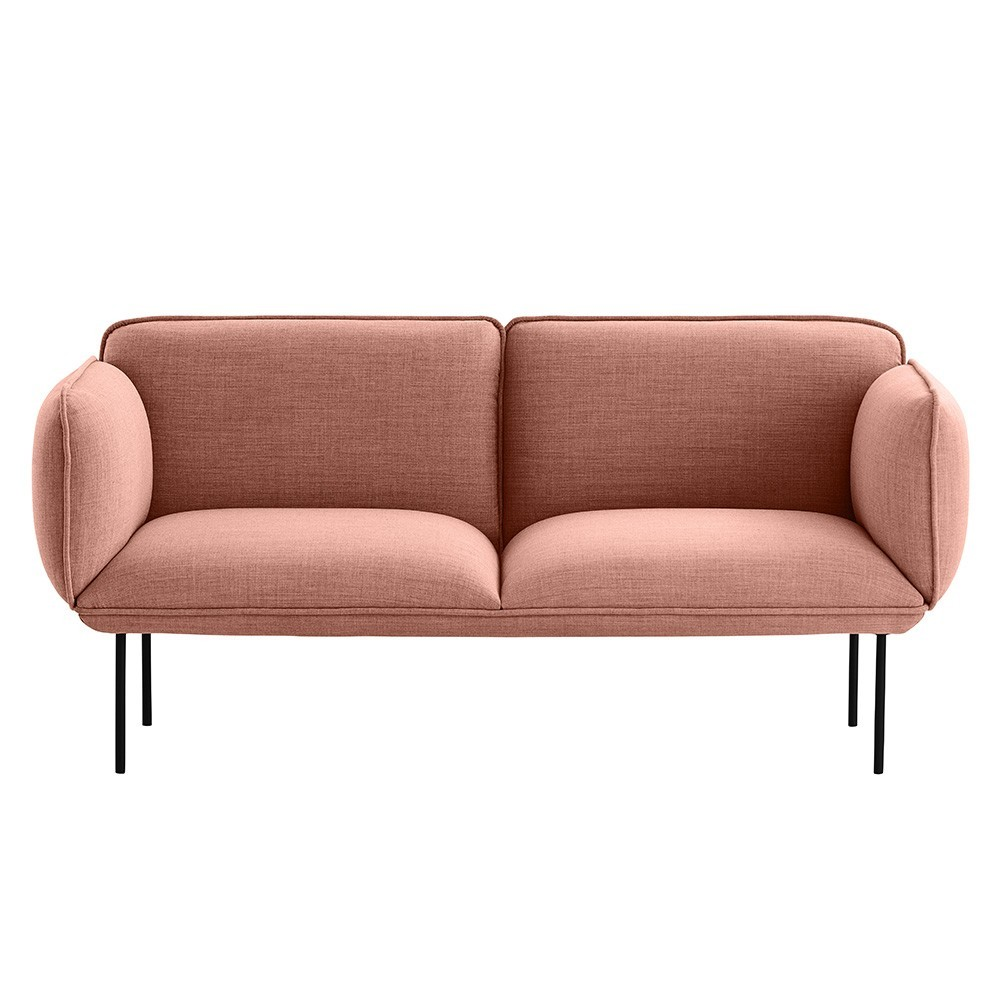 Nakki 2-seater sofa Kvadrat Remix 2 fabric Woud