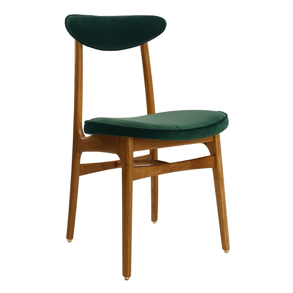 200-190 stoel flessengroen fluweel 366 Concept
