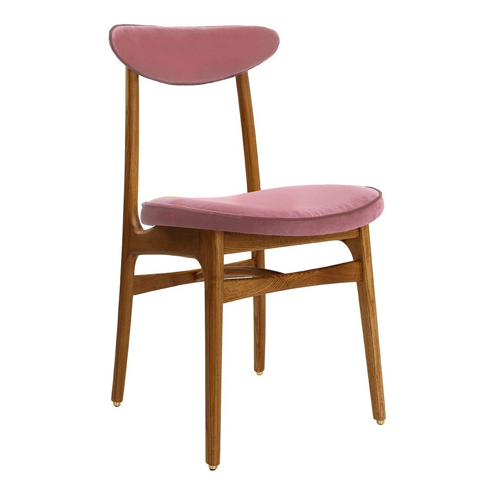 200-190 chair Velvet powder pink 366 Concept