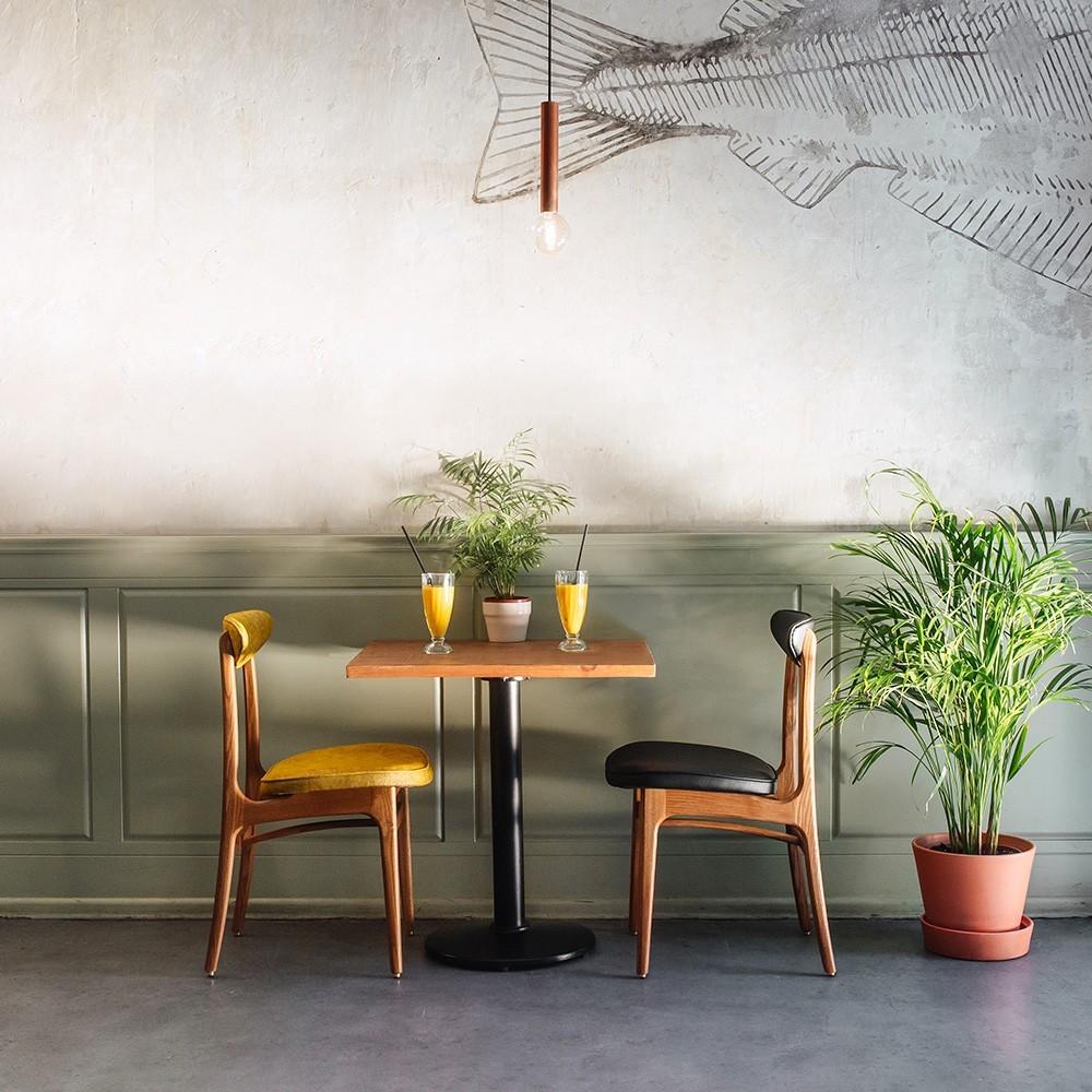 200-190 chair Velvet graphite 366 Concept