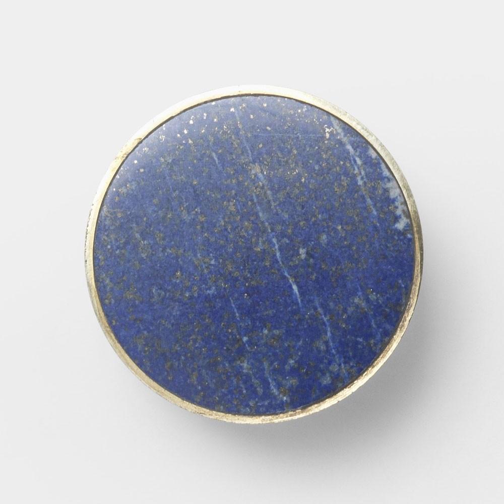Patère Stone Blue Lapis Lazuli L - destockage Ferm Living
