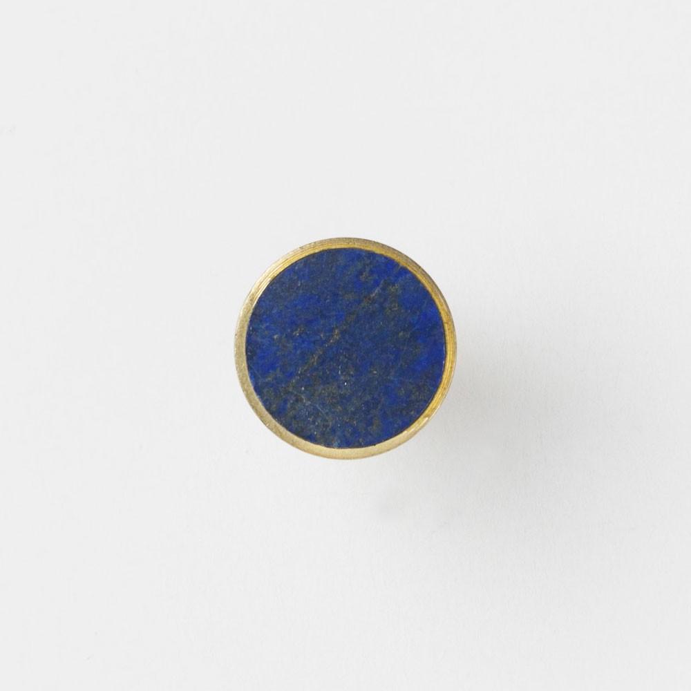 Stone hook Blue Lapis Lazuli S Ferm Living