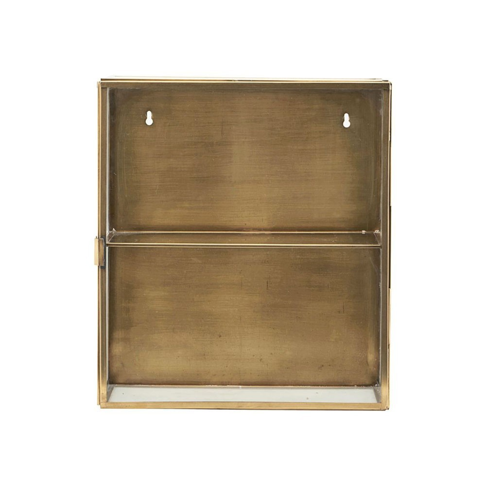 Cabinet glass & brass S House Doctor