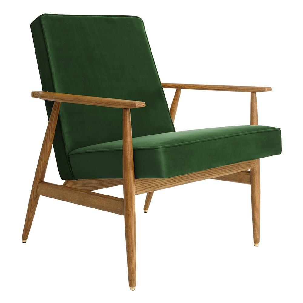 Fox Lounge chair Velvet bottle green 366 Concept