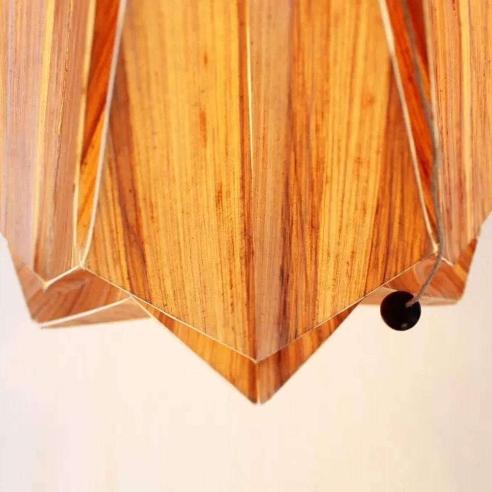 Hanahi Ecowood hanglamp Tedzukuri Atelier